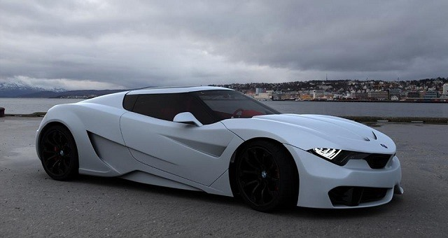 2017 BMW M9 - front