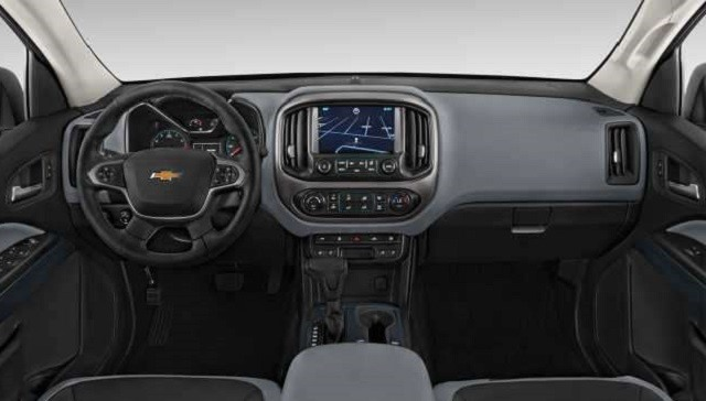 2017 Chevrolet Colorado - interior