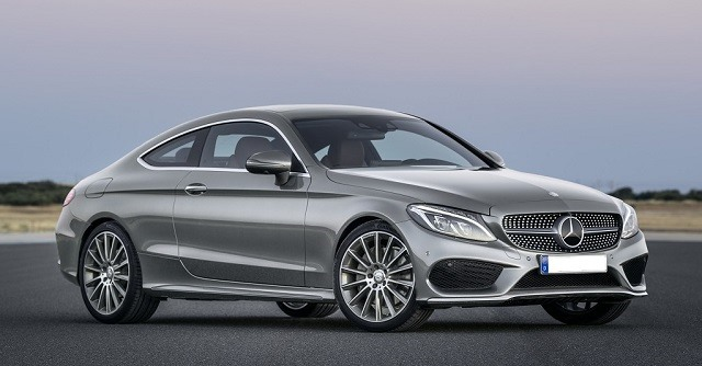 2017 Mercedes-Benz C-class Coupe - front