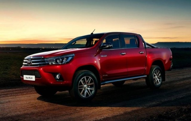 2017 Toyota Hilux - front