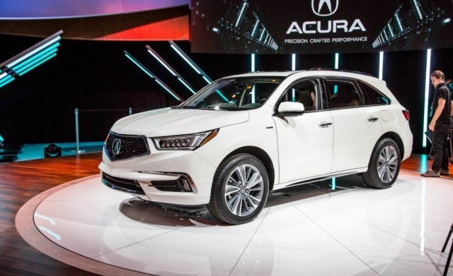 2017 Acura MDX Hybrid front