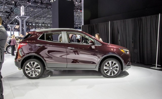 2017 Buick Encore side