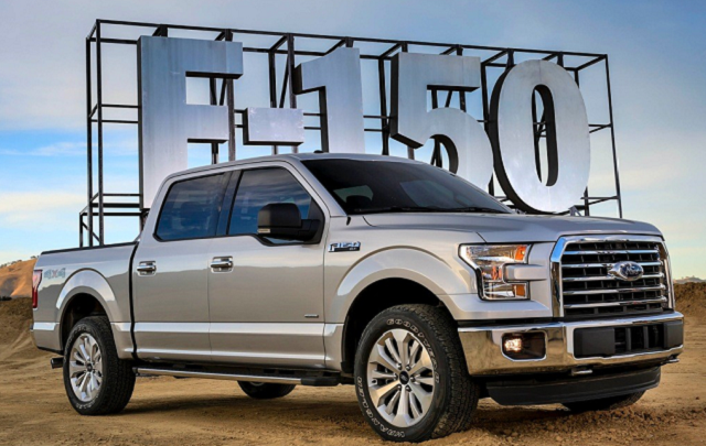 2017 Ford F-150 - front