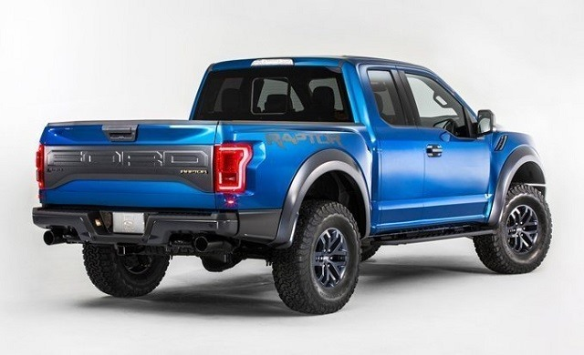 2017 Ford Raptor F-150 - rear