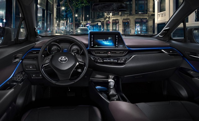 2017 Toyota C-HR interior