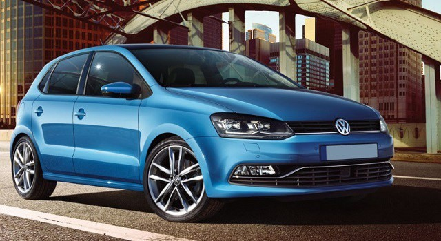 2017 VW Polo front