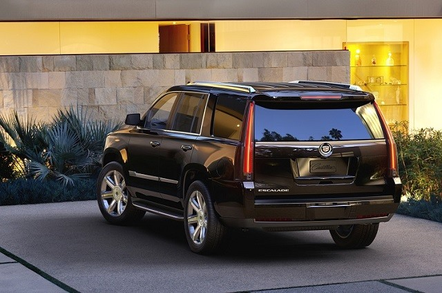 2018 Cadillac Escalade - rear