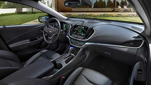 2018 Chevy Impala interior