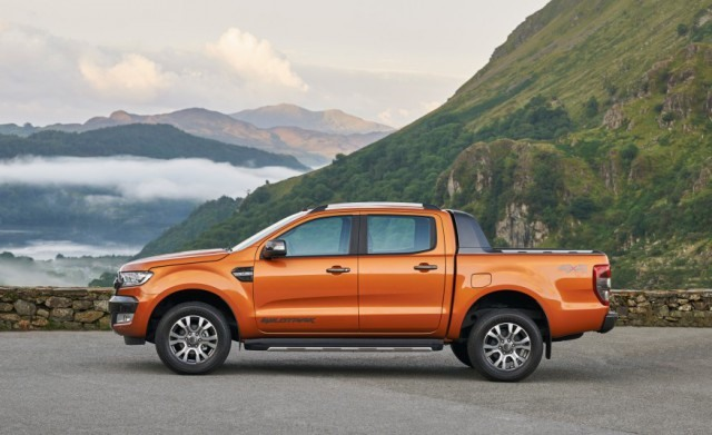 2018 Ford Ranger side
