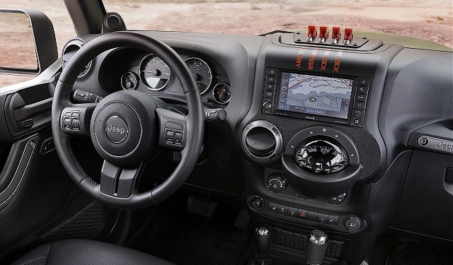 2018 Jeep Wrangler Pickup Truck - interior