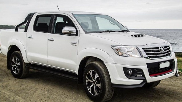 2018 Toyota Hilux - front