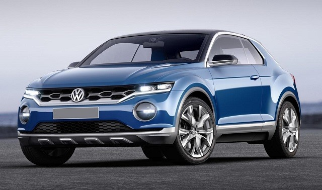 2018 VW Golf SUV - front