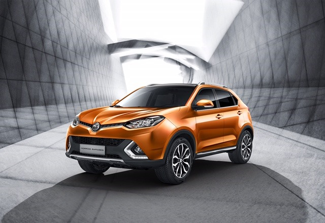 MG GS SUV - front
