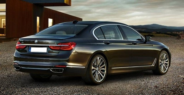 2017 BMW 7- Series - rear