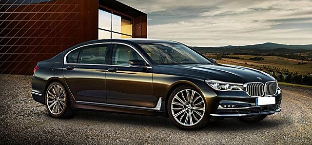 2017 BMW 7- Series - front
