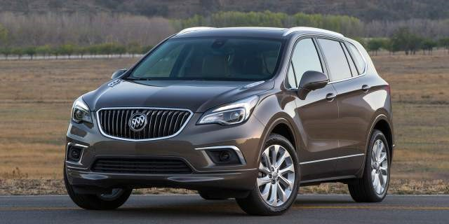 2017 Buick Envision - front