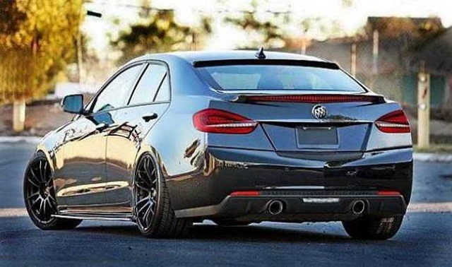 2017 Buick Regal - rear