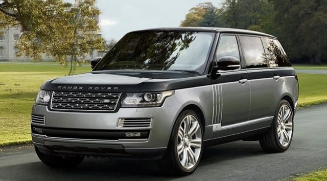2017 Land Rover Range Rover - front