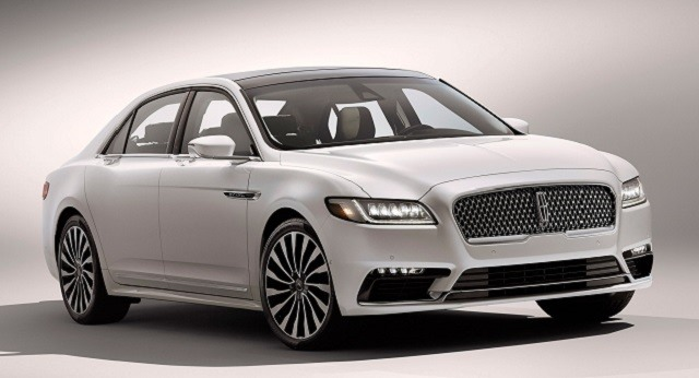 2017 Lincoln Continental - front