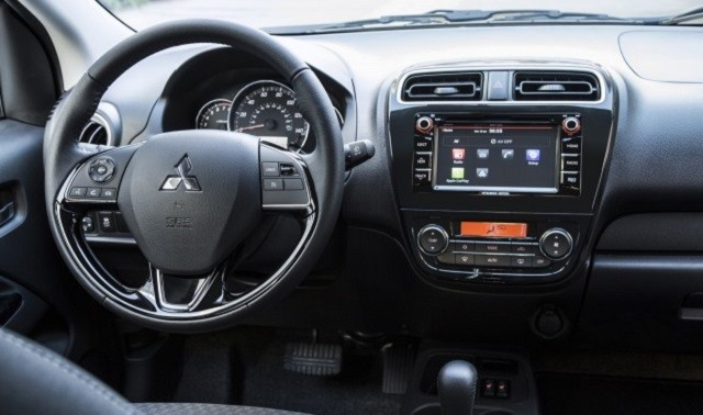2017 Mitsubishi Mirage - interior