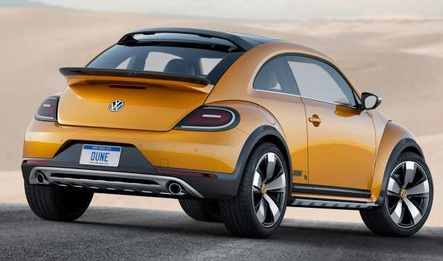 2017 VW Beetle - rear
