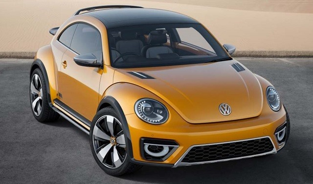 2017 VW Beetle - front