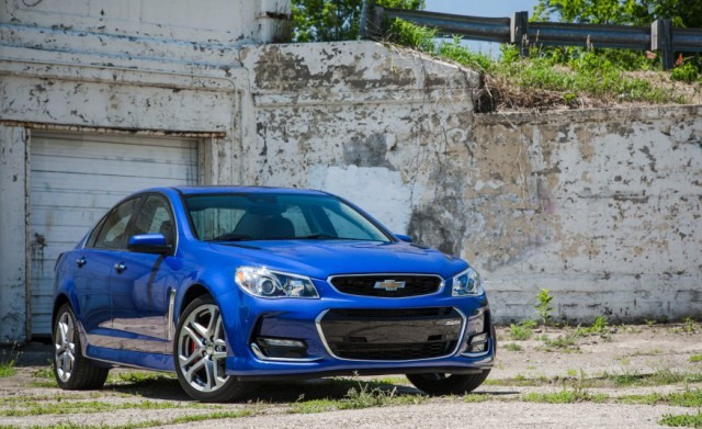 2018 Chevy SS front