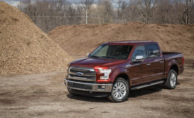 2018 Ford F-150 - front
