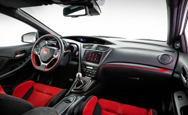 2018 Honda Civic Type R interior