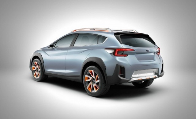 2018 Subaru Crosstrek rear