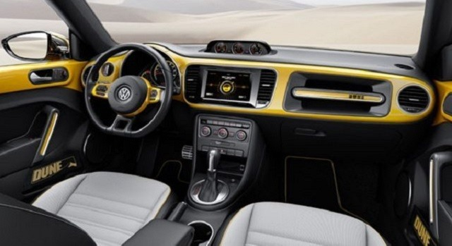 2017 VW Beetle - interior