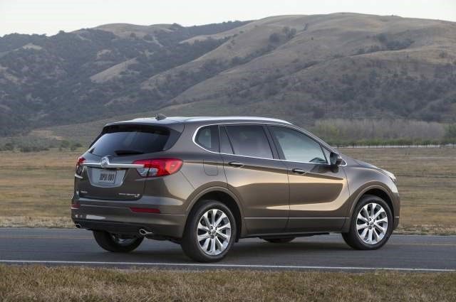 2017 Buick Envision - rear