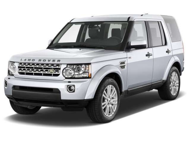 2017 Land Rover Discovery LR4 - front