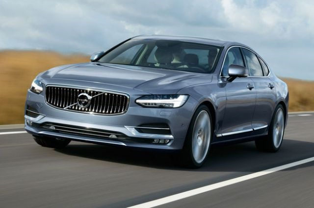 2017 Volvo S90 - front