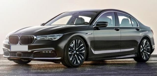 2017 BMW 5 Series - front