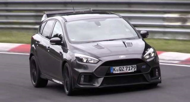 2018 Ford Focus RS 500 front