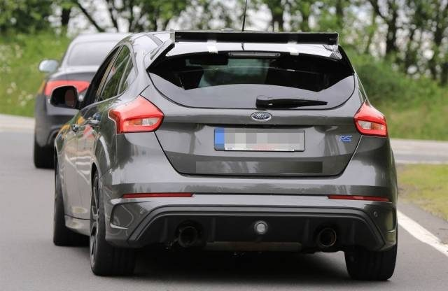 2018 Ford Focus RS 500 rear