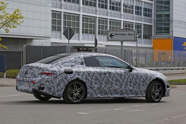 2018 Mercedes E-Class Coupe rear