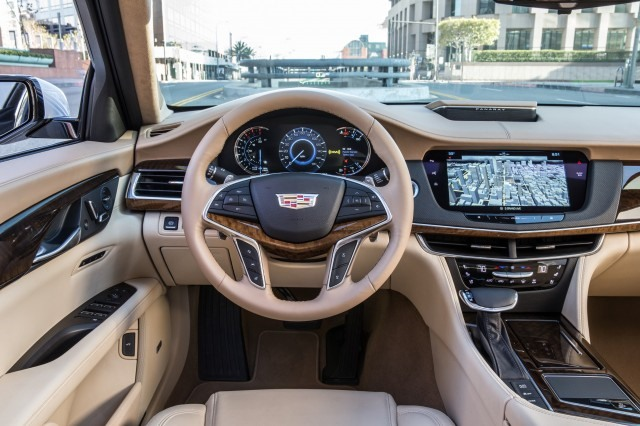 2017 Cadillac CT6 - interior