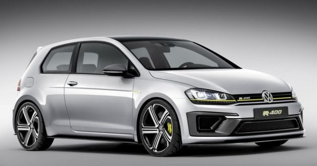 2017 VW Golf R - front