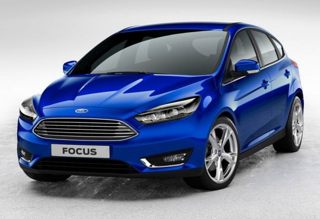 2017 Ford Focus - front
