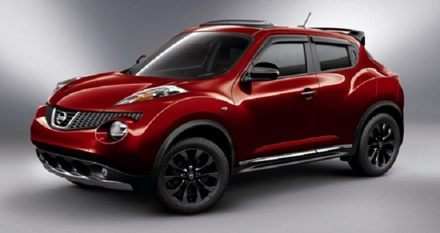 2017 Nissan Juke Nismo RS - front