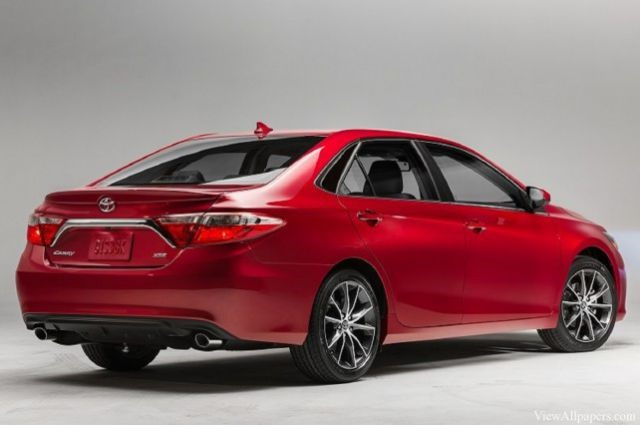 2017 Toyota Camry - rear