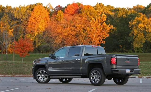 2018 GMC Sierra 1500 rear