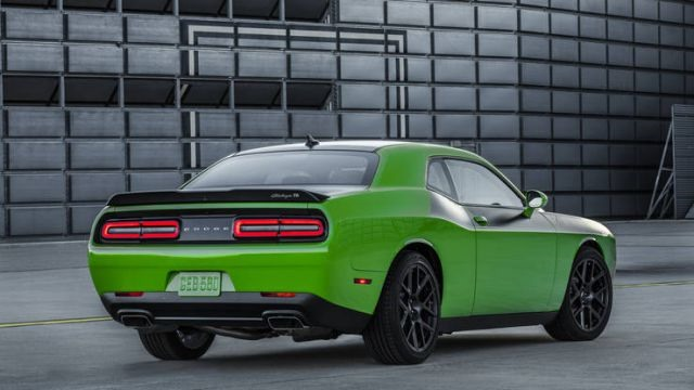 2017 Dodge Challenger T/A - rear