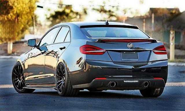 2018 Buick Grand GNX - rear