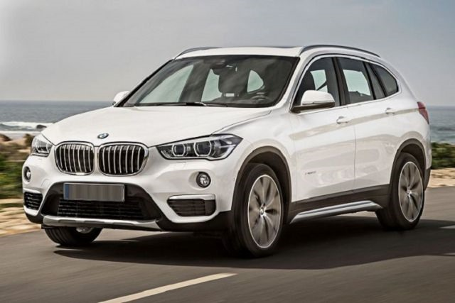 2018 BMW X1 - front