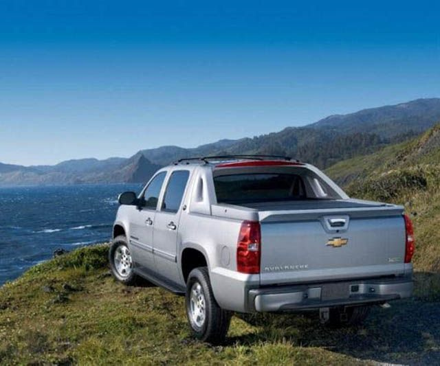 2018 Chevrolet Avalanche - rear