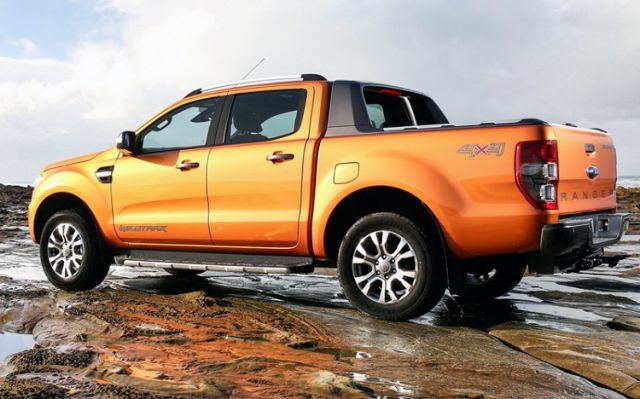2018 Ford Ranger - rear