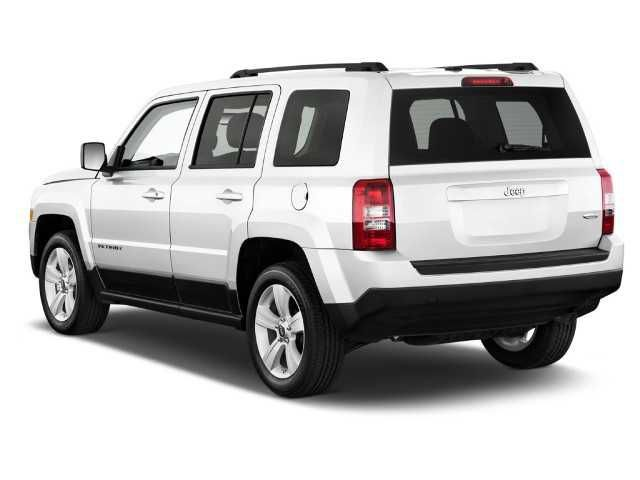 2018 Jeep Patriot - rear